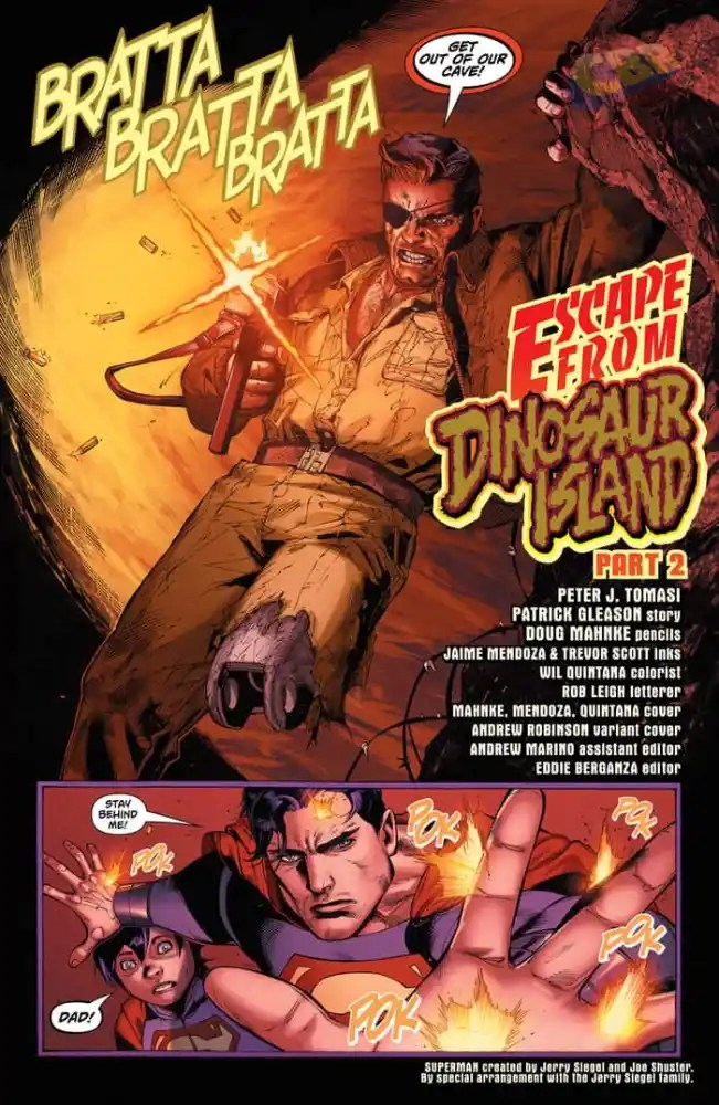 Captain Storm in Superman #9, image via DC Comics