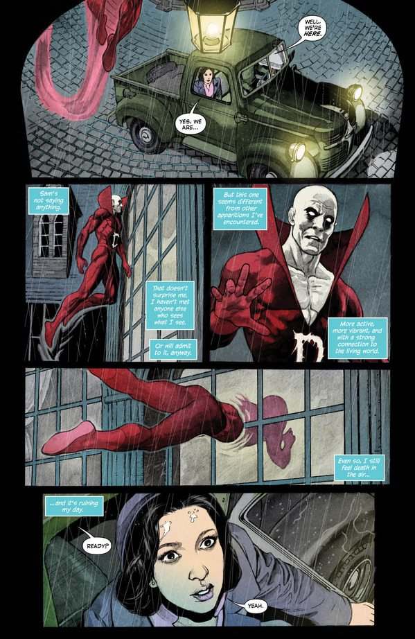 page from Deadman, image copyright DC Comics