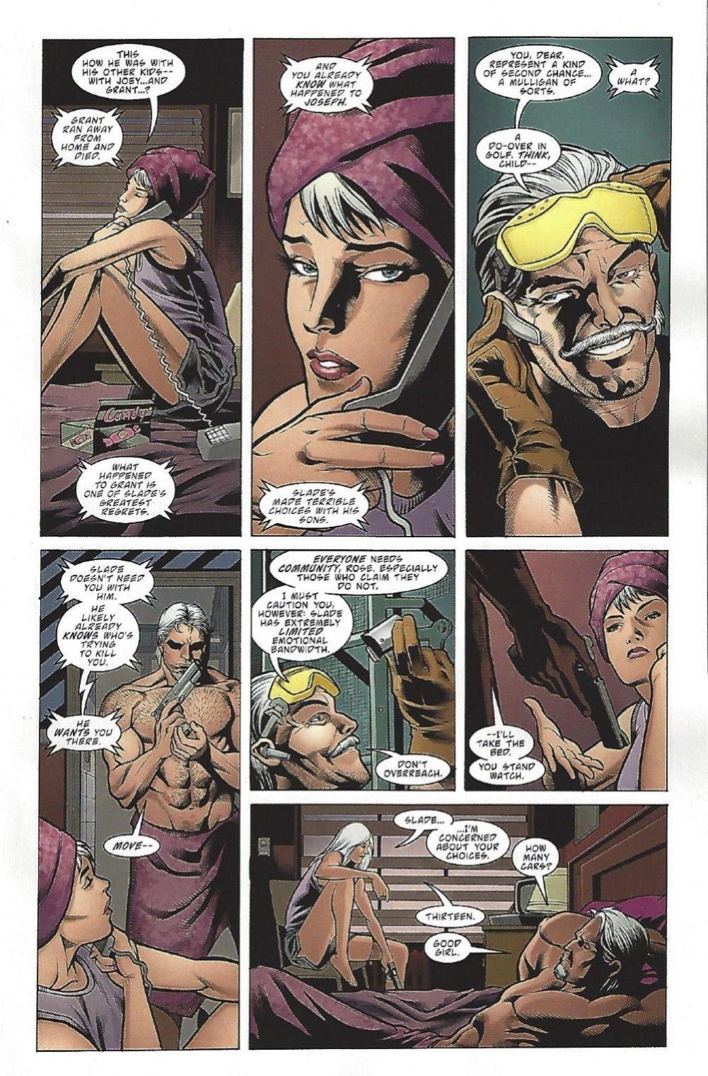 Look, it's mirror image Alfred, aka Wintergreen. image copyright DC Comics