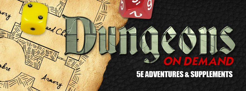 Kickstarter Alert: 'Dungeons On Demand' D&D Adventures