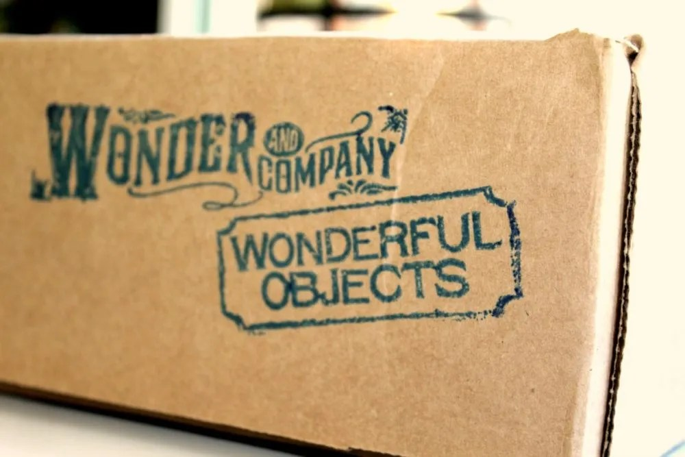 Wonder and Company box