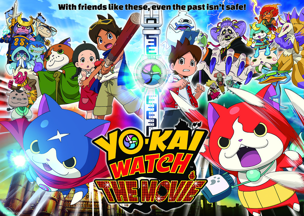 See 'Yo-Kai Watch: The Movie' (This Saturday Only!)