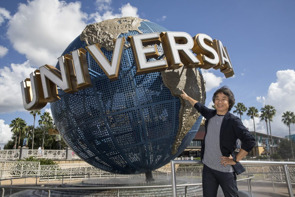 Miyamoto Shares Vision for Universal Theme Parks' Nintendo Attractions
