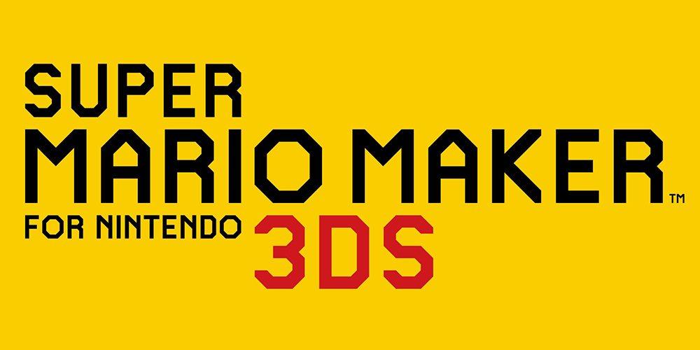 Super Mario Maker 3DS logo