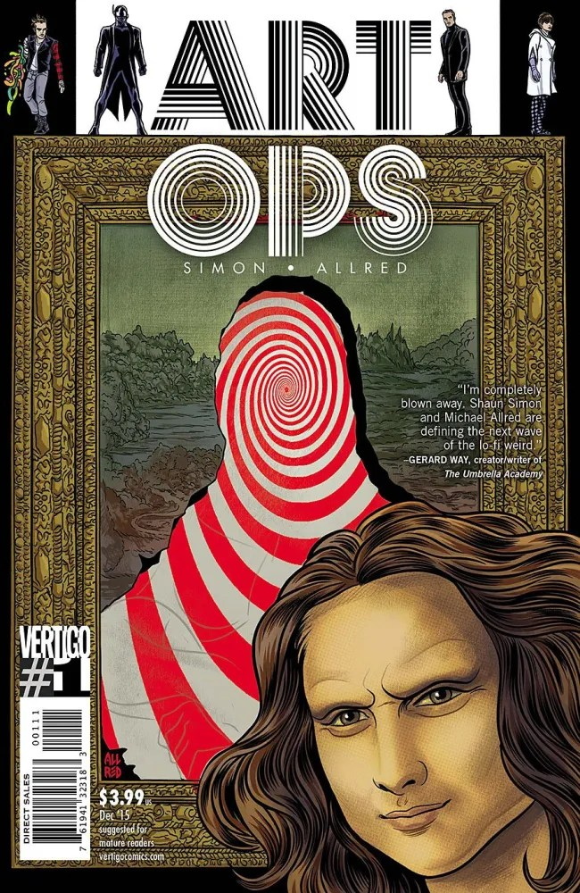 Art Ops, Vol 1, cover copyright DC Comics