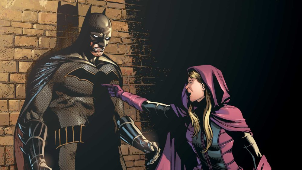 Detective Comics #945: Spoiler has never been shy about talking back to Batman.