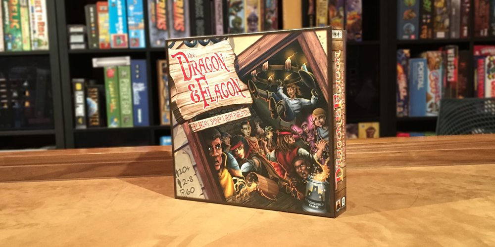 Throw Chairs, Knock Over Tables, and Kick (Cardboard) Butt in 'The Dragon & Flagon'