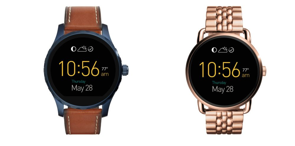 The Fossil Q Marshall and Wander Android Wear Watches Have Potential