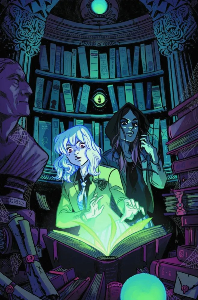 Panel from Gotham Academy Volume #1, copyright DC Comics