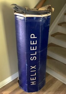 Helix Sleep matress in a box