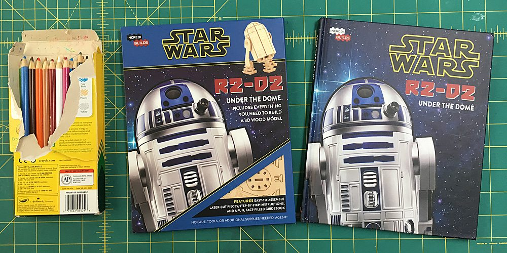 'IncrediBuilds' Brings R2-D2 to 3D Life