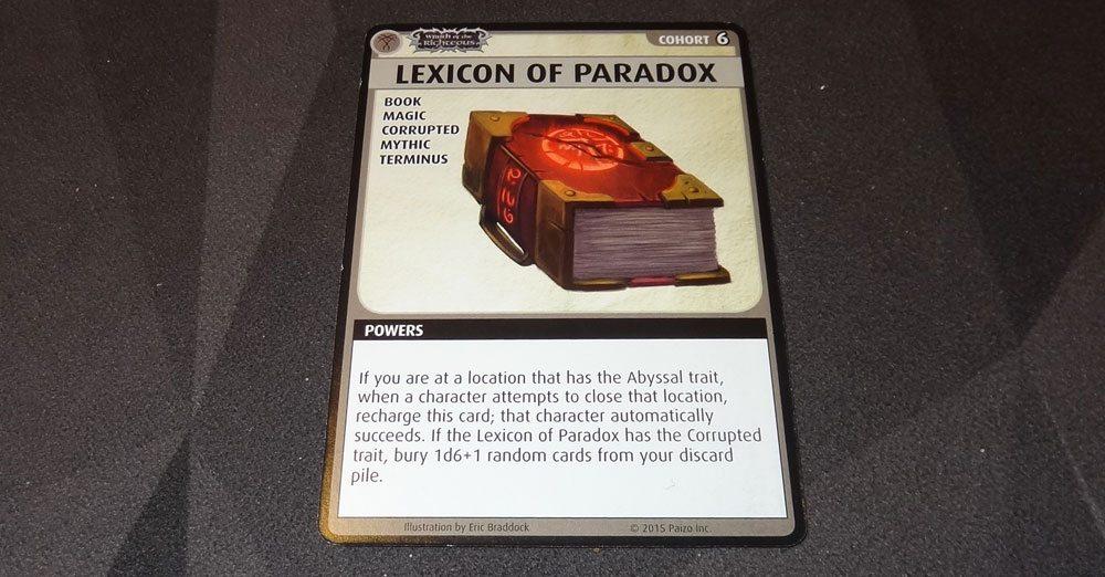 Lexicon of Paradox