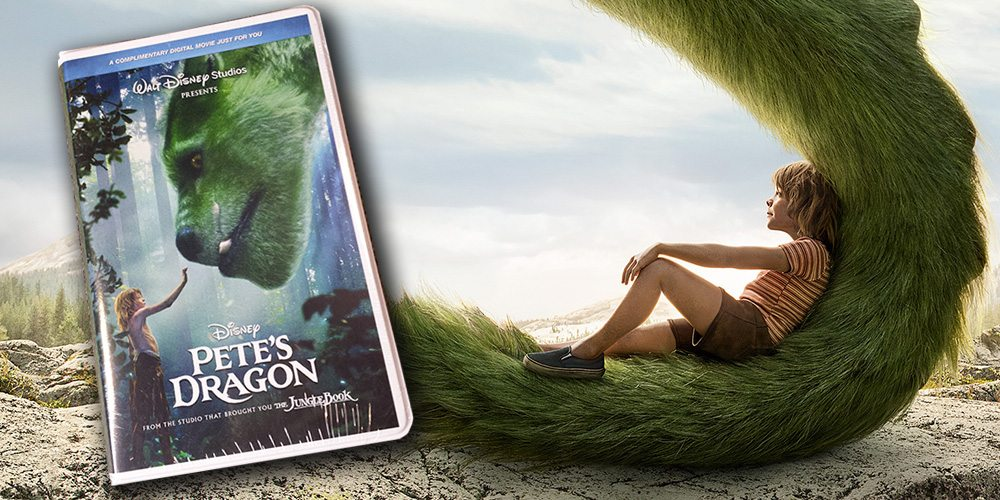 'Pete's Dragon' Now Available on Blu-ray, DVD, Digital… and VHS?