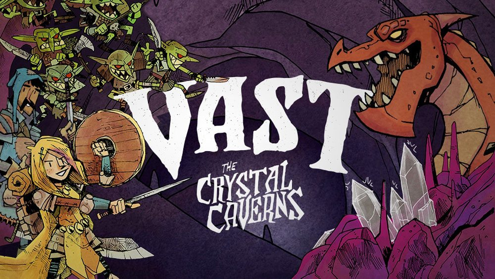Kickstarter Tabletop Alert: 'Vast: The Crystal Caverns'