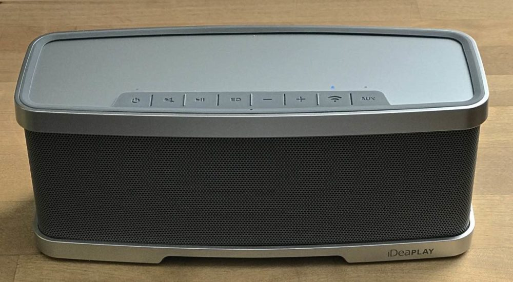 iDeaPLAY Sound X1 wireless speaker review