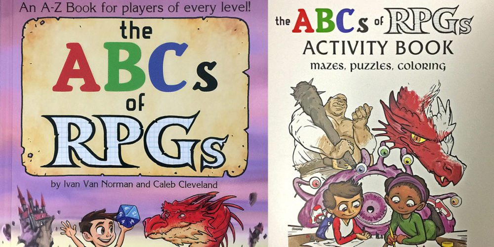'The ABCs of RPGs' Kids' Book and Companion Coloring Book