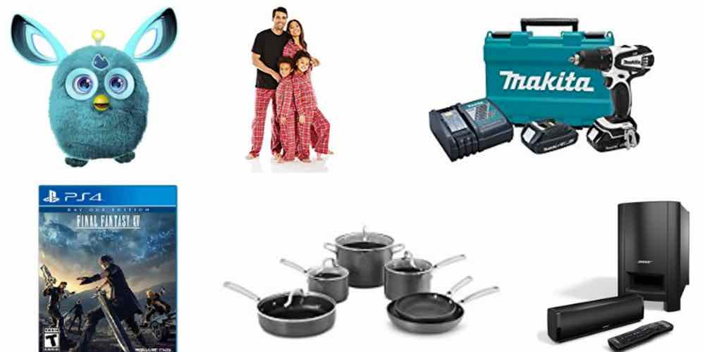 Last-Minute Holi-Daily Deals: Furby, 'Final Fantasy XV,' PJs, Cookware, Tools, Home Audio, and More!