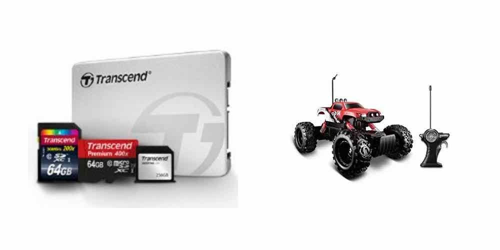 Save Big on Memory with Deals on SSDs, SDs, and JetDrives; Have some RC Fun – All in Today's Daily Deals!