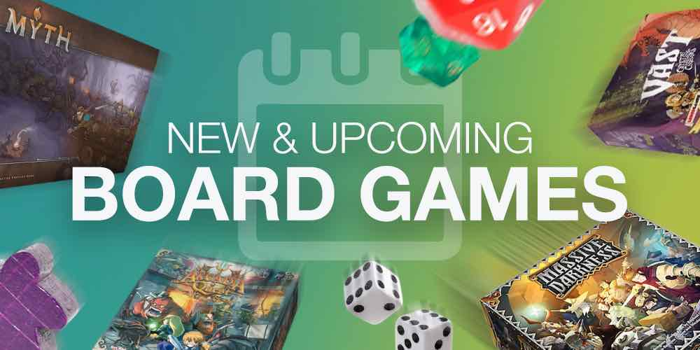 New & Upcoming Board Games in April 2017