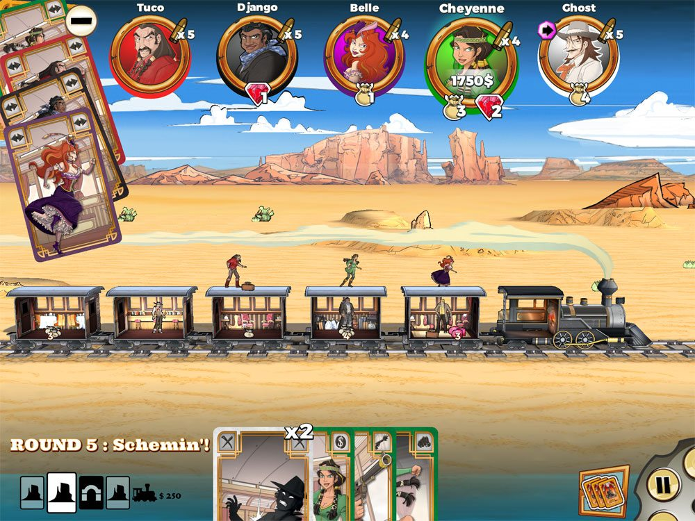 Colt Express select card