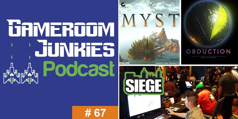 Gameroom Junkies #67: From 'Myst' to 'Obduction' With Rand Miller at SIEGE