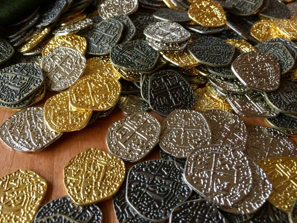 Doubloon pile
