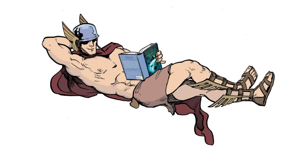 GeekDad Exclusive: Greek Gods' Reading Lists