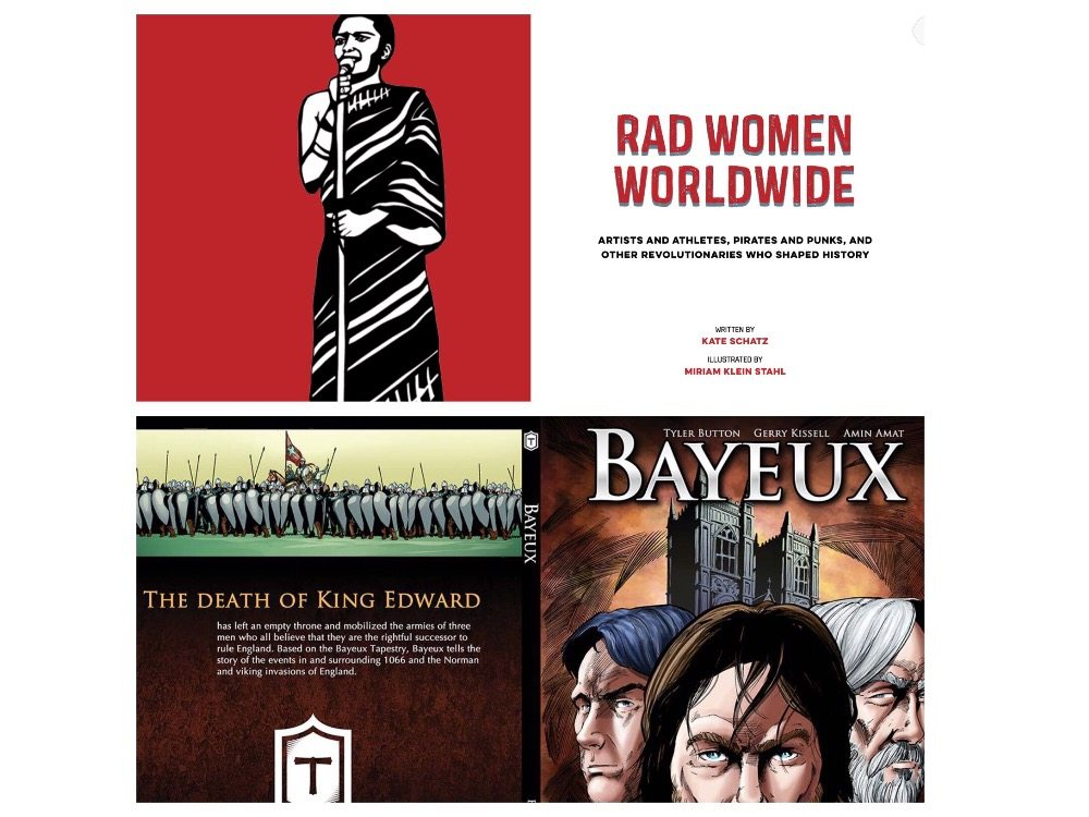 History Books for Kids: Rad Women and Bayeux