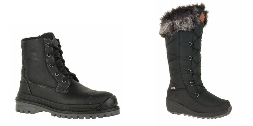 These boots were made for winter.  Images: Kamik