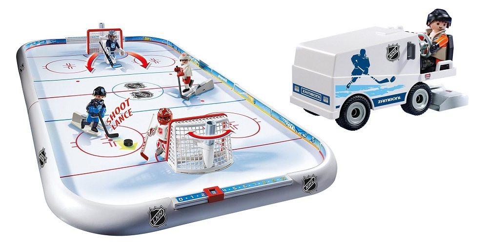 Playmobil Playroom: NHL Hockey Arena & Zamboni