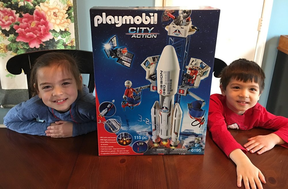 Playmobil Playroom: Space Rocket With Launch Site
