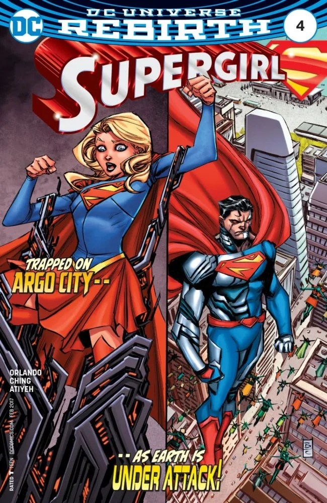 Cover to Supergirl #4, copyright DC Comics