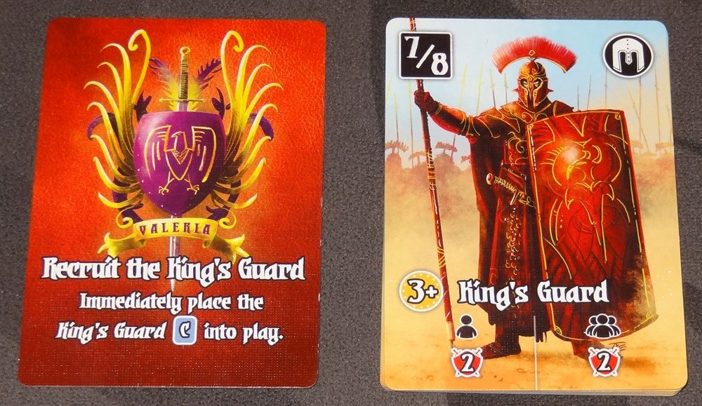 Valeria: Card Kingdoms King's Guard