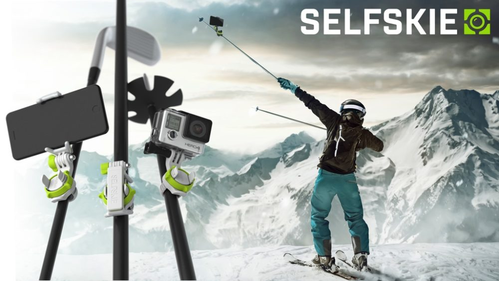 Stocking Stuffer: SELFSKIE — Attach Your Smartphone to Any Stick