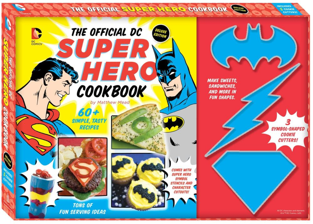How a Super Hero Cookbook Saved My Son's Birthday
