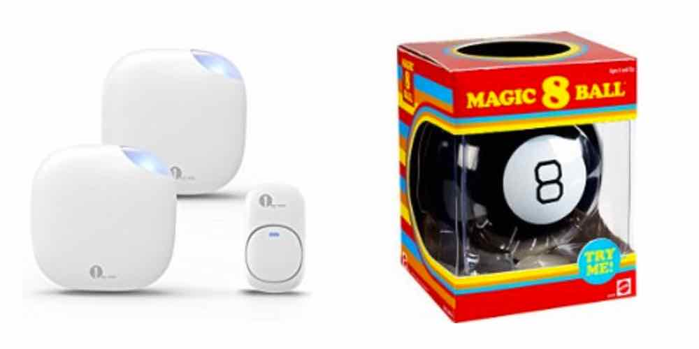 Save Big on a Wireless Doorbell, Get a Magic 8 Ball to Guide Your Year – Daily Deals!