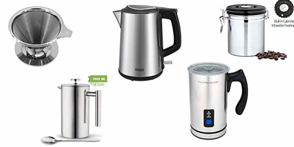 Save Big on Gear for Your Coffee and Tea: Pour Over, Press, Froth, Heat, and Store – Daily Deals!