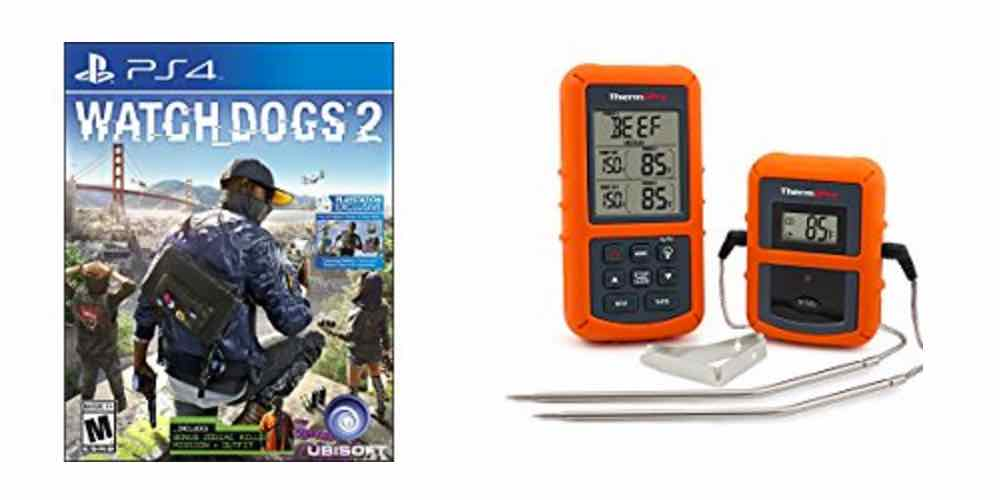 Save Big on 'Watchdogs 2' and a Digital Cooking Thermometer – Daily Deals!