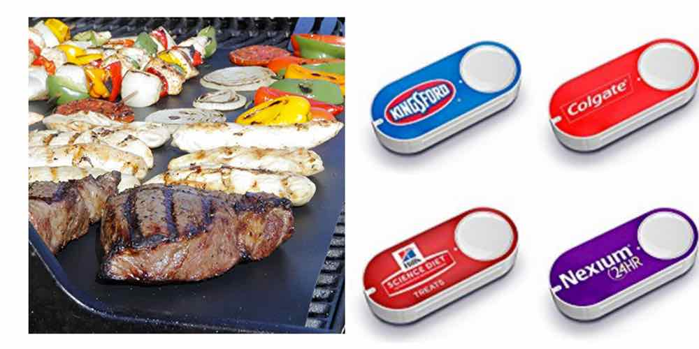 Save Big on BBQ Grill Mats, Check Out the New Dash Buttons – Daily Deals
