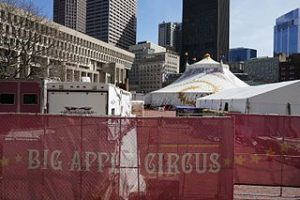 Will circus' story end: Big Apple Circus in Boston.