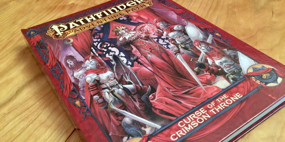 'Pathfinder's 'Curse of the Crimson Throne' Hardcover: Can You Beat the Curse?