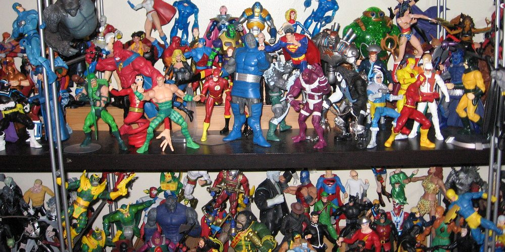 Action figures aplenty. Photo courtesy of Flickr user prodigeek