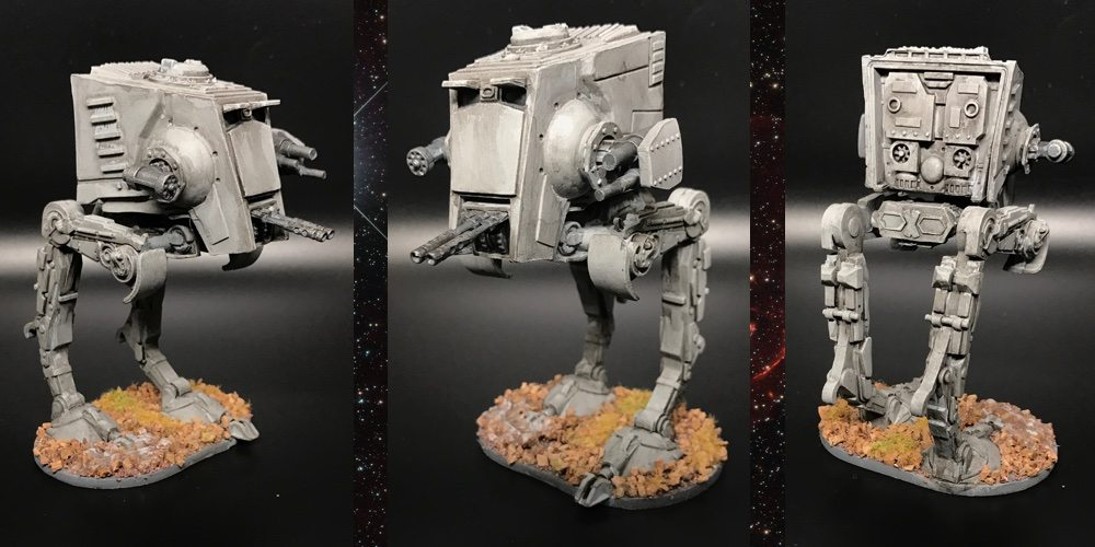 GeekDad Paints! 'Imperial Assault' Part 10: AT-ST