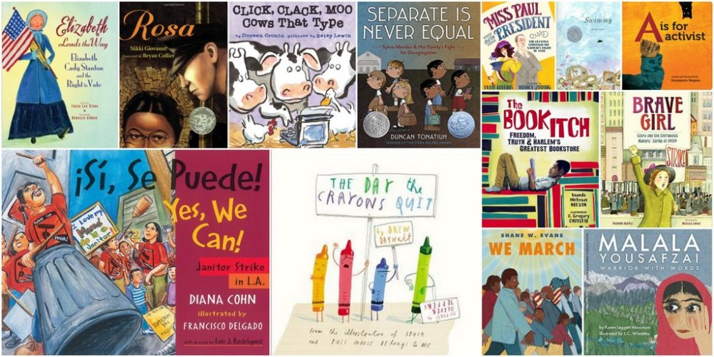 13 Books to Teach Children About Protesting and Activism
