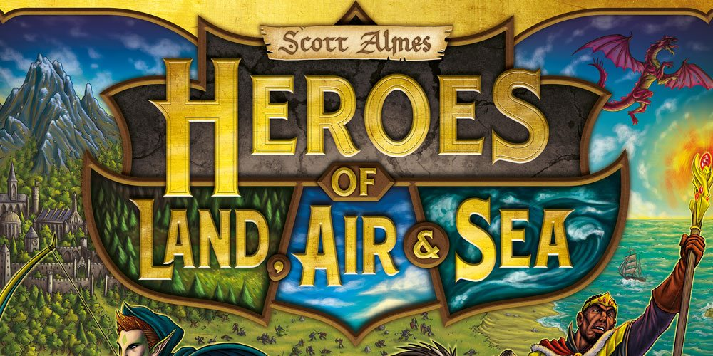 Kickstarter Tabletop Alert: 'Heroes of Land, Air & Sea' Relaunch