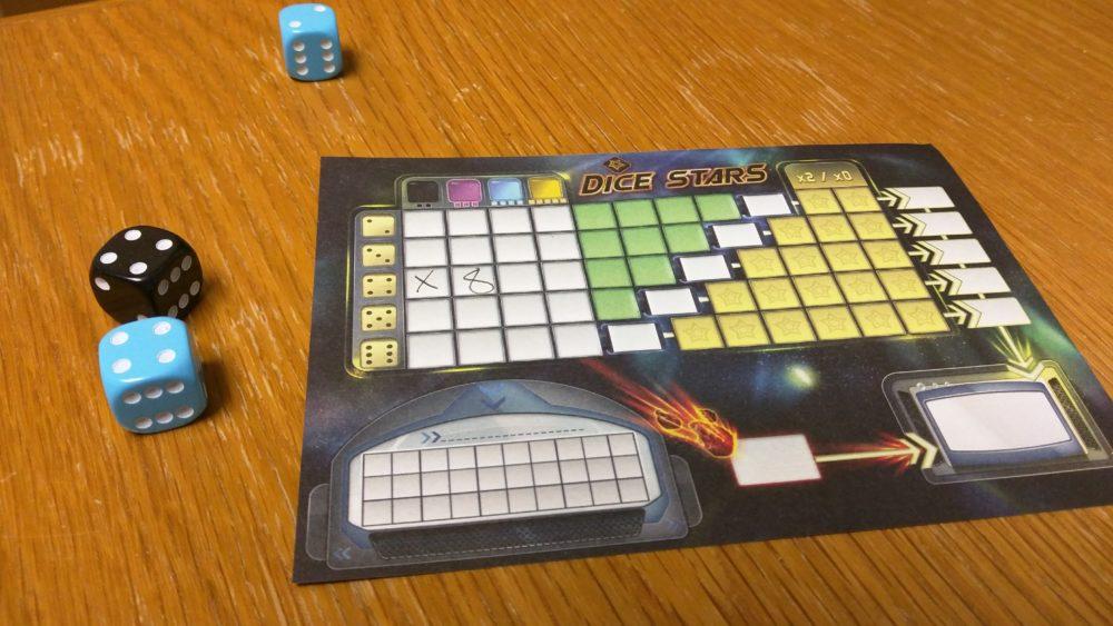 dice stars 4+4