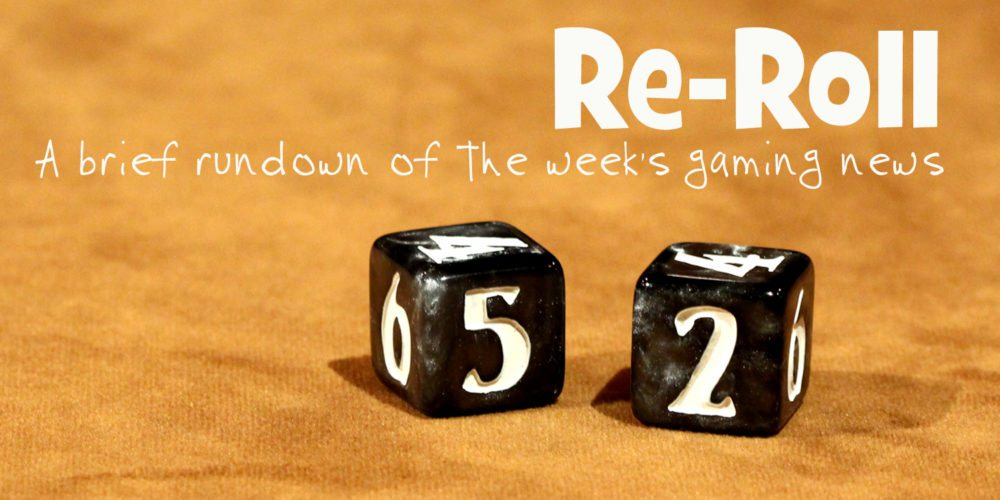 Re-Roll: This Week's Tabletop Game News
