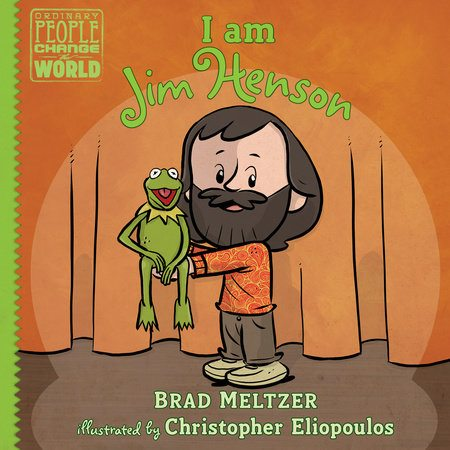 Delight your child's imagination and creativity with 'I Am Jim Henson', the latest addition to Brad Meltzer's 'Ordinary People Change the World' series.
