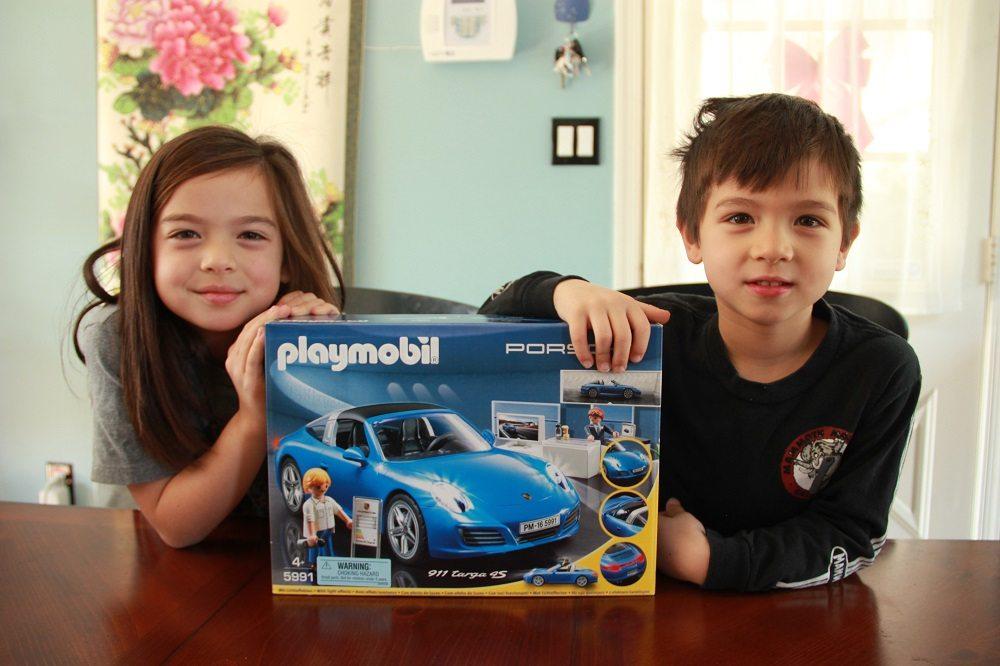 Playmobil Playroom: Porsche 911 Targa 4S