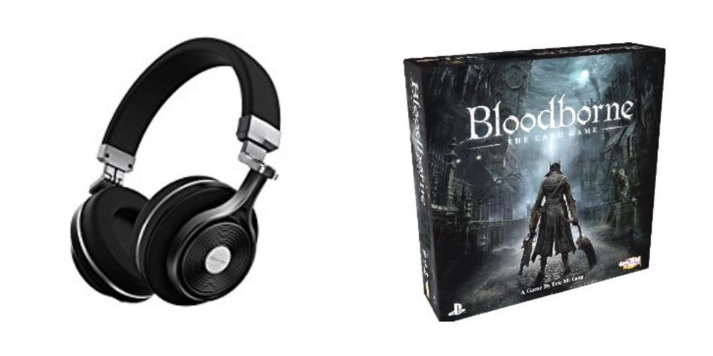 Save Big on Bass-Heavy Bluetooth Headphones, 'Bloodborne' Card Game – Daily Deals!